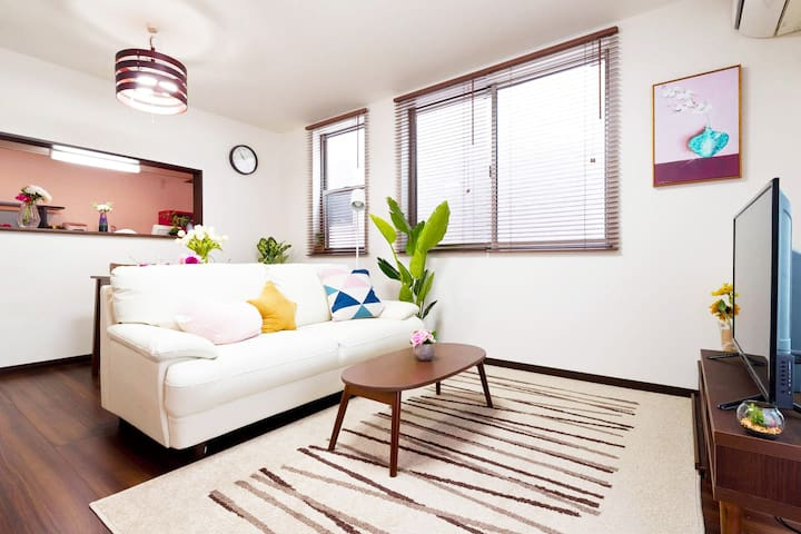 Super Luxury! Shinjuku 3-storey House/5min JR/ 8pl
