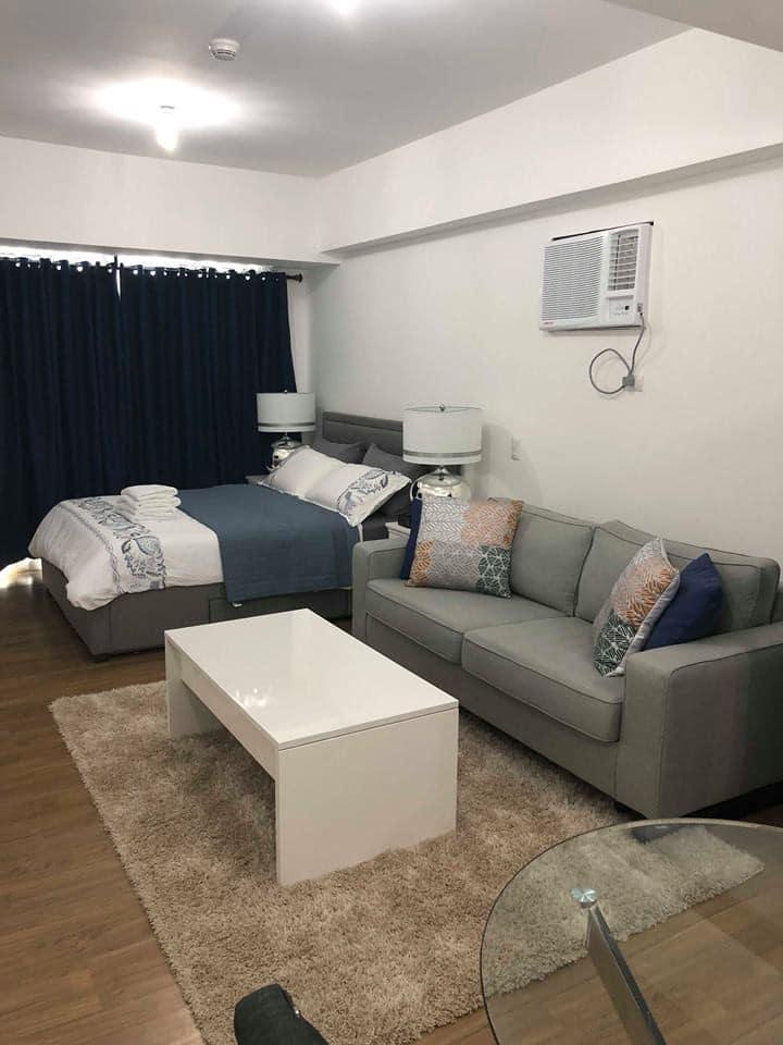 Newly furnished studio at Abreeza Place Tower 2