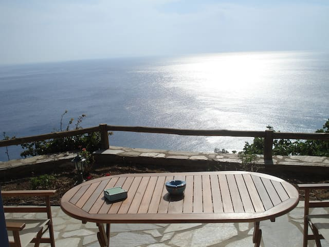 Amazing View and Tranquillity - Andros - Haus