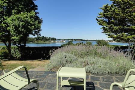 Une maison sur la mer - Bretagne Sud - Morbihan - Locoal-Mendon - Huis
