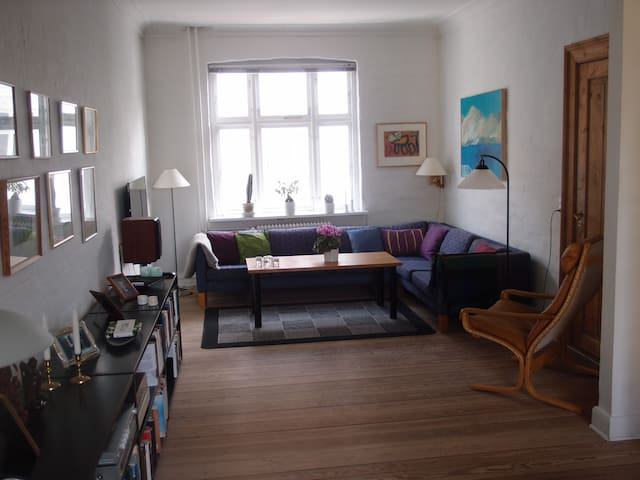 Bo på dejlige Frederiksbjerg i hjertet af Aarhus - Aarhus - Apartamento