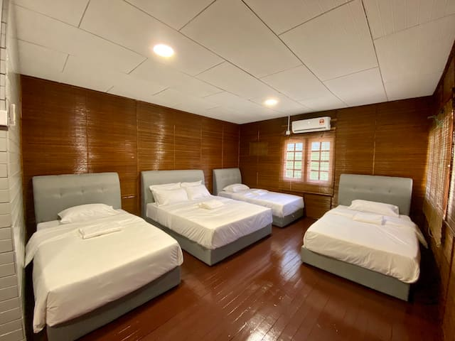 A family suite, can accommodate up to 5 person