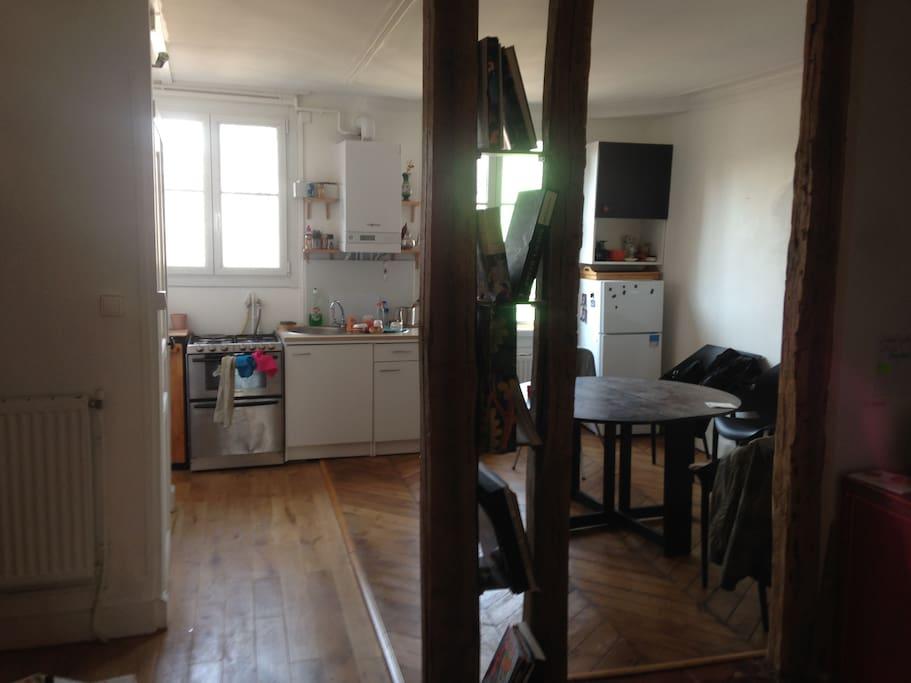 La cuisine / salon