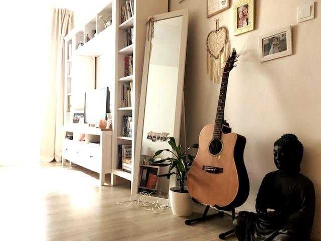 Útulný a světlý byt v BOHO stylu
