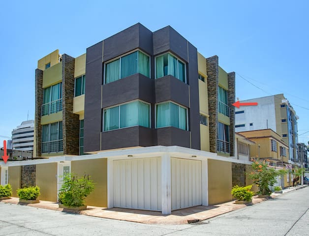 Furnished apt. suite, 3rd floor-Kennedy Norte area - Guayaquil - Pis