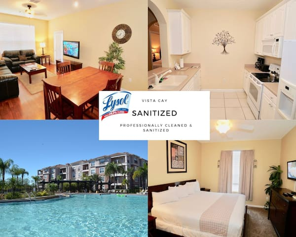 Vista Cay 3 bed Penthouse 409
