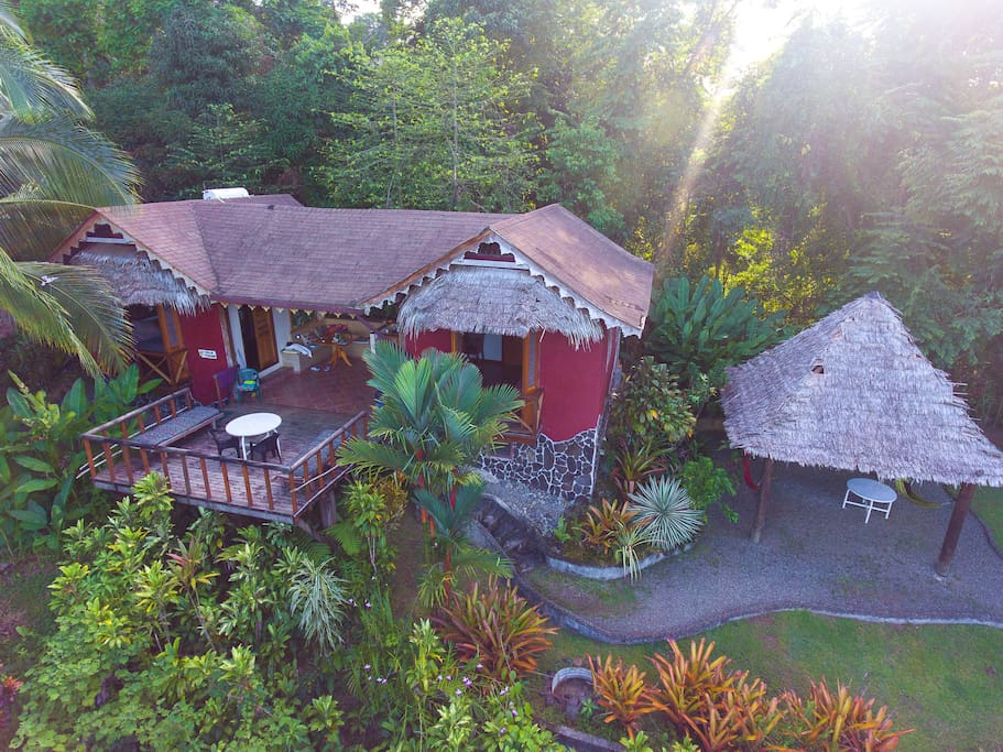 Villa Toucan Aerial view October 2016