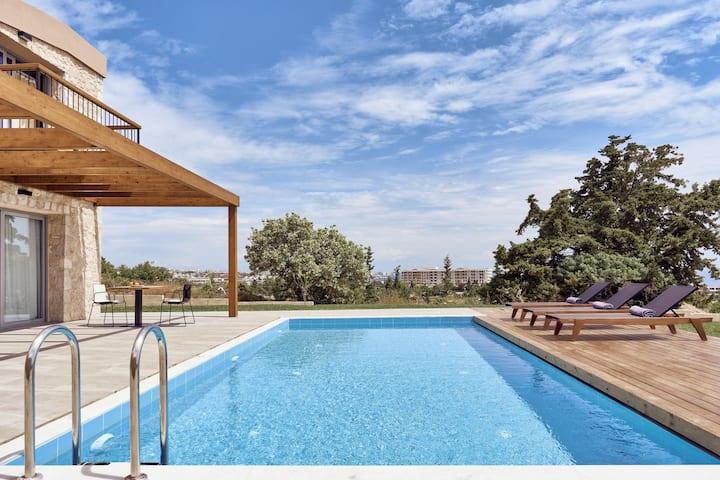 Spectacular SeaView 4Bedroom Villa, in Rhodes