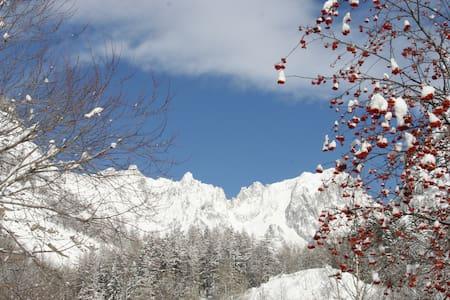 Courmayeur Mont Blanc - Trilocale - Lägenhet