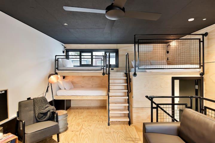 Sleek New York Style Loft Apartment