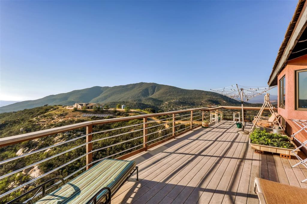 Enjoy sweeping panoramic views from multiple private decks!