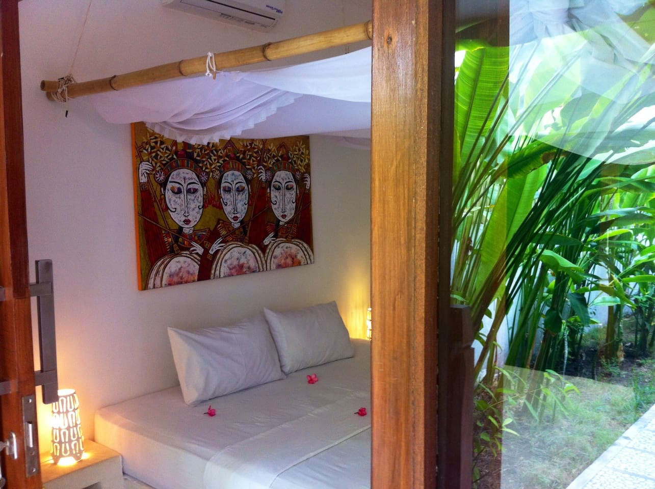 your Suite in our tropical garden