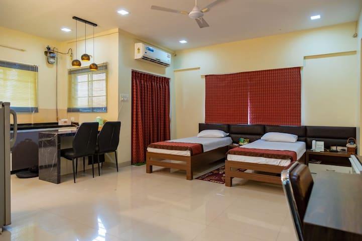 Studio Serviced Apartment at Amanora Park Town