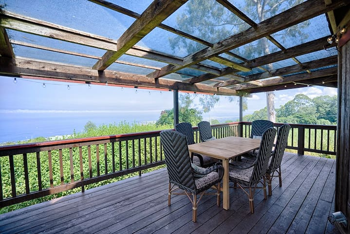 Spacious Holualoa Home With Amazing Ocean Views