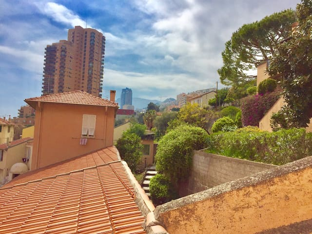 centrical flat on the monaco border - Roquebrune-Cap-Martin - Apartment