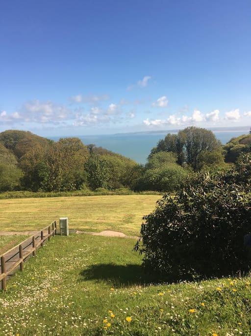 Sea views, great for picnics