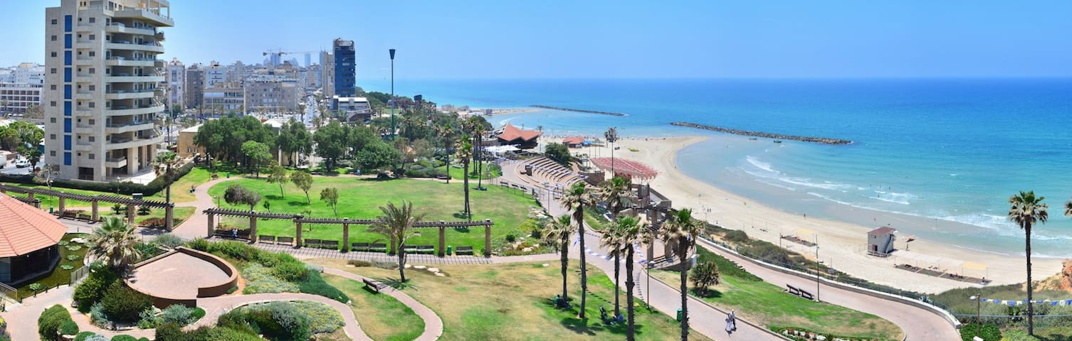 Modern 5 minutes from the sea - Netanya - Apartamento