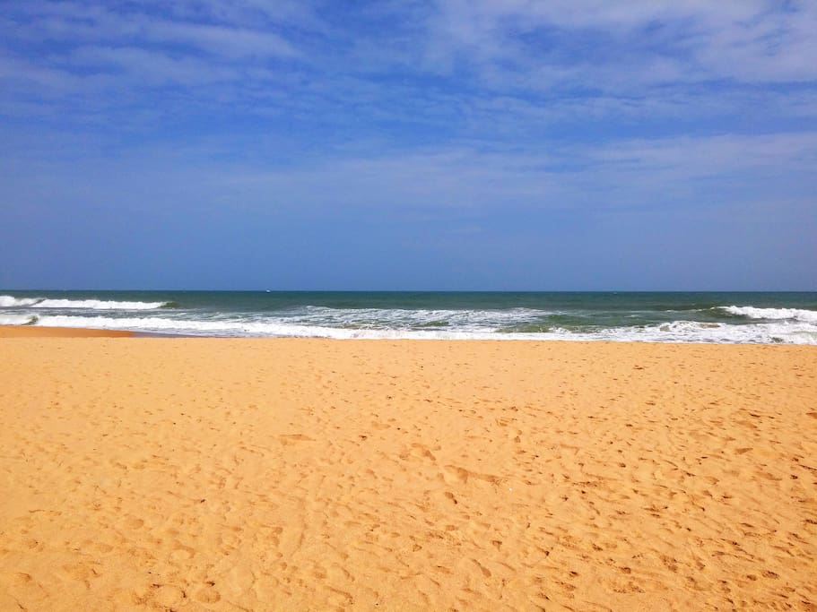 Our beach - one of the best beaches in Sri Lanka - Narigama beach