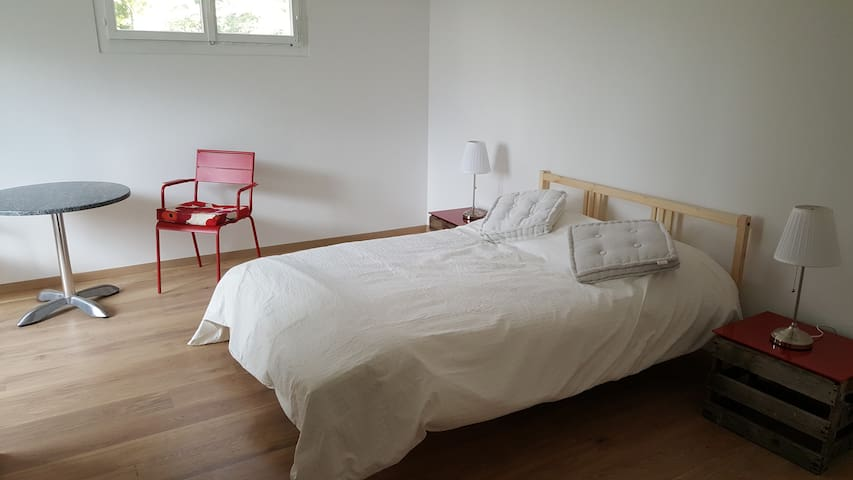 3 large bedrooms with nice view on the lake - Belmont-sur-Lausanne - Apartamento