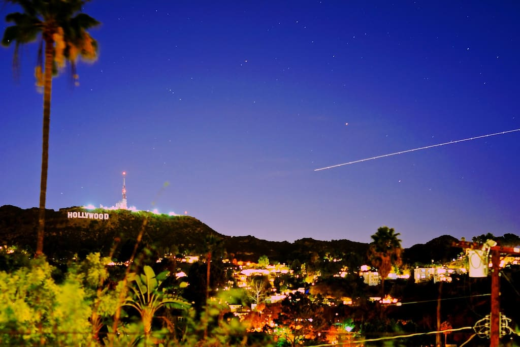 Hollywood Sign Views.  This is not a zoom/telephoto picture.