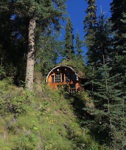 Rosie Creek B&B II - Fairbanks - Maan sisään rakennettu talo