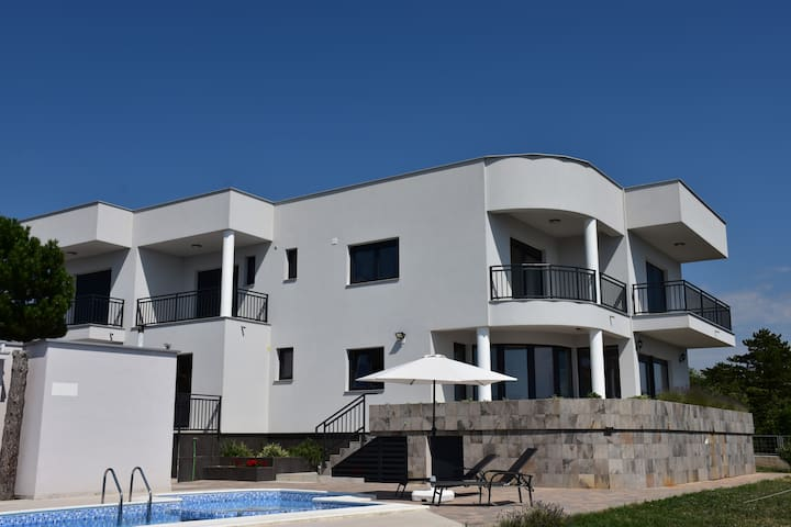 Villa on Adriatic