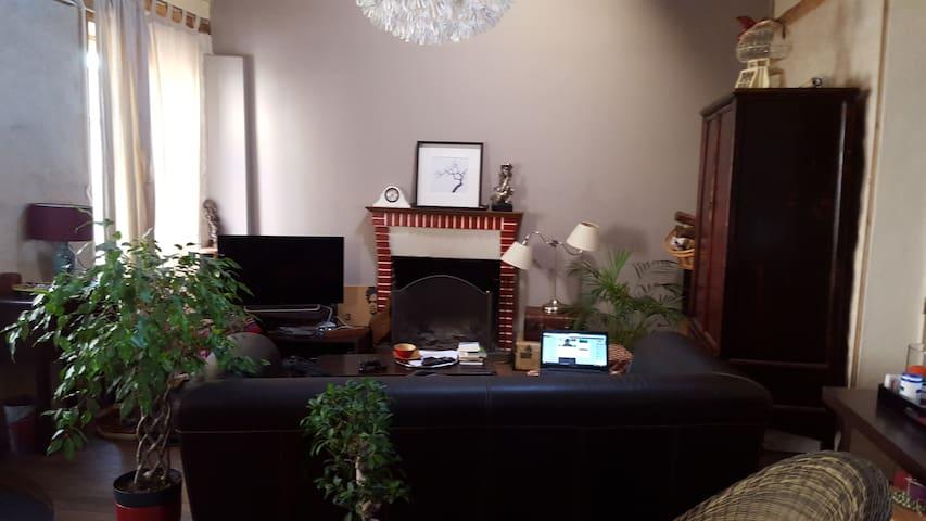 Jolie maison avec jardin - Aigrefeuille-sur-Maine - Rumah
