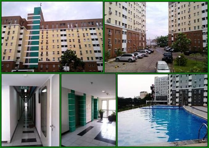 Cozy room at strategic location & near airport... - Tangerang - Lägenhet