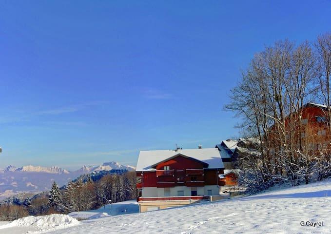 2 pièces, wifi,  parking,  Ski sans voiture