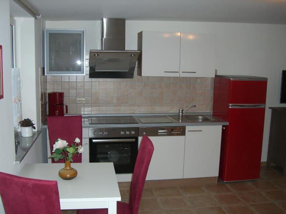 1 Zimmer Appartment / Ferienwohnung mit Küche
