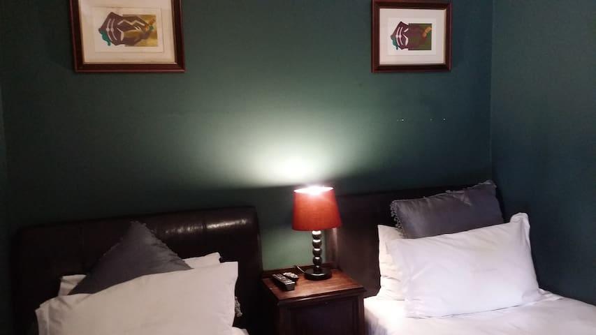 Kwa Mkhabele Lodge Mzilikazi twin Bed Room - Johannesburg South - Apartemen