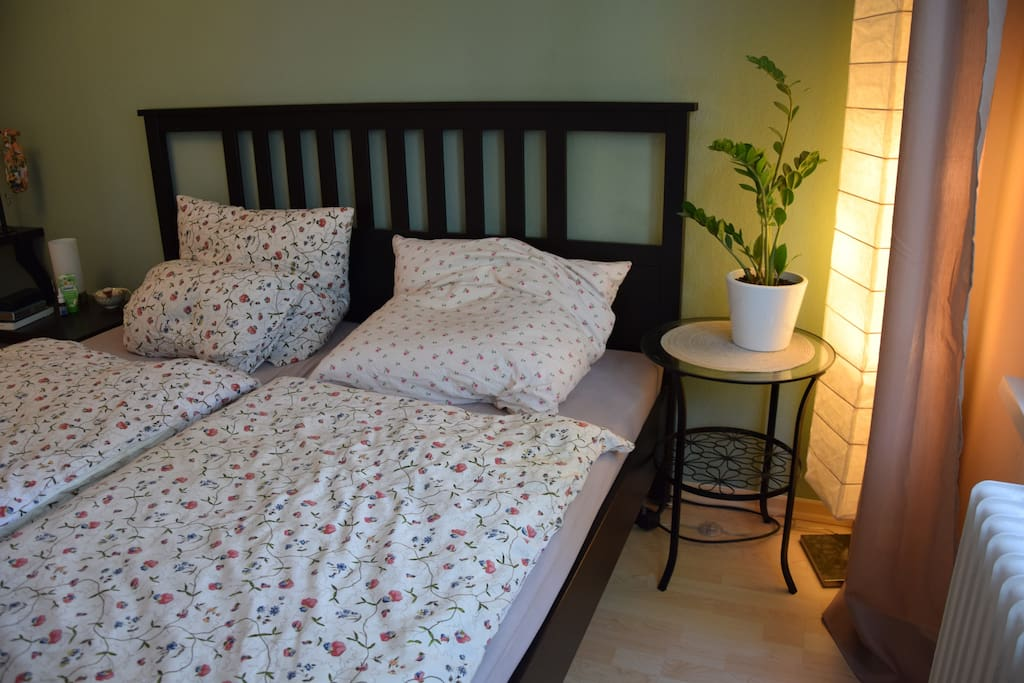 Large 2 m bed