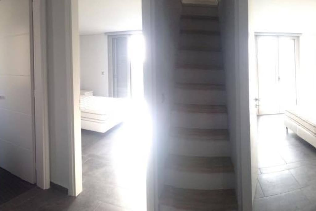 Second floor with two bedrooms
