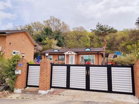 Choi House, Country house, Garden , Barbecue
