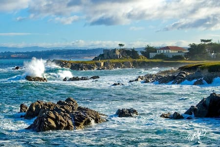 Breathtaking Views-Monterey Pebble Beach Retreat - 太平洋丛林(Pacific Grove) - 连栋住宅