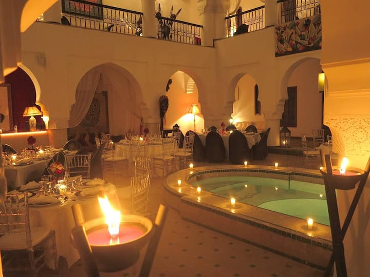 Riad with pool - Double room Fes