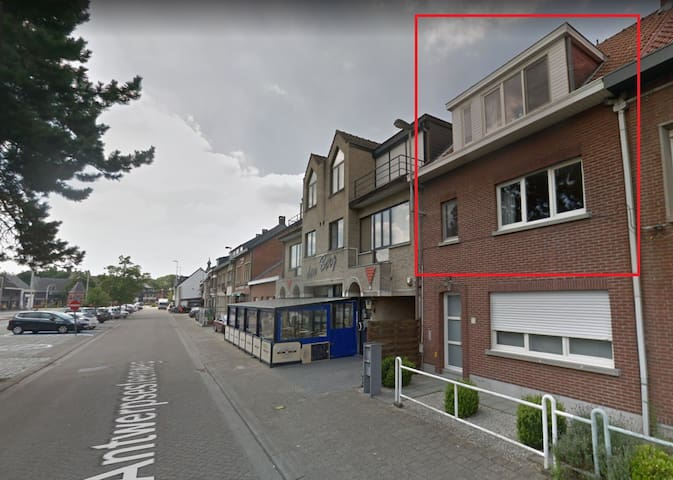 Duplex appartment in Westmalle