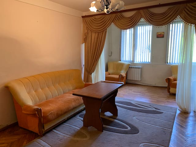 Sunny and spacious apartment in Yerevan
