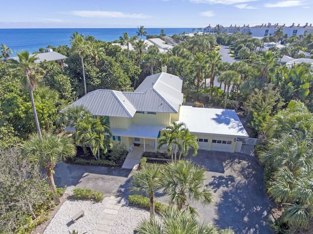Ocean Side Beach House in Vero Beach, Florida