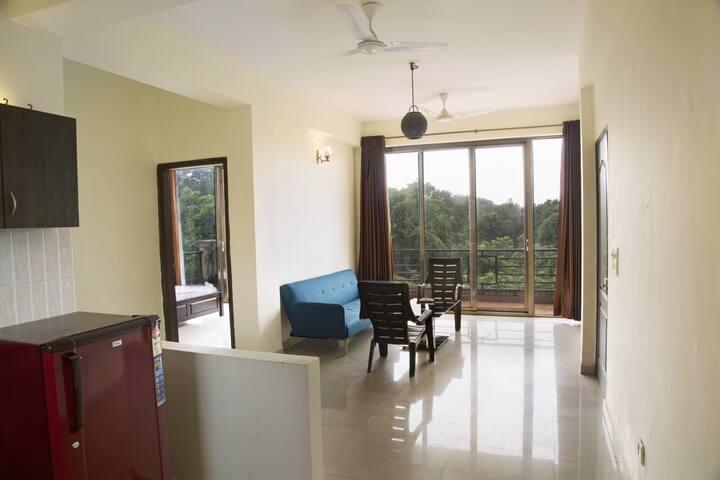 2-bedroom apartment, 1.7 km from Vagator beach - North Goa - Flat