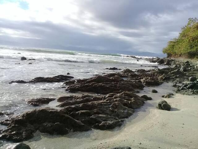 Habitacion frente al mar playa la manzanilla 2