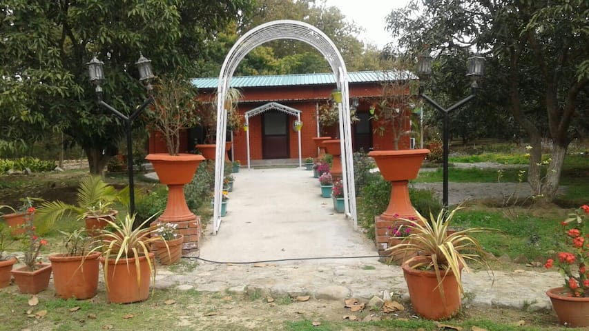 Nirvana Cottage at Vishranti Resorts.