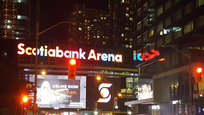 Scotiabank Arena - Next door!