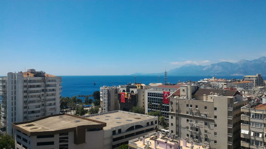 Penthouse over top of Antalya next  sea & centrum - Muratpaşa - Apartment