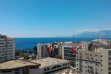 Penthouse over top of Antalya next  sea & centrum - Muratpaşa - Departamento