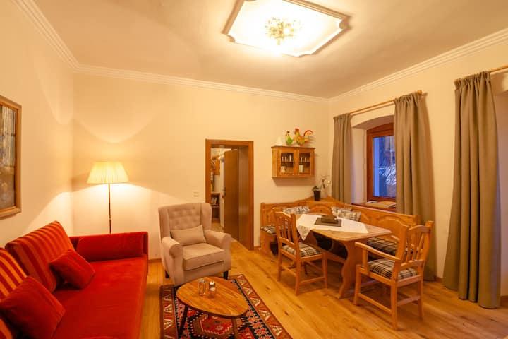 # 15 Appartement mit Balkon und Panoramablick