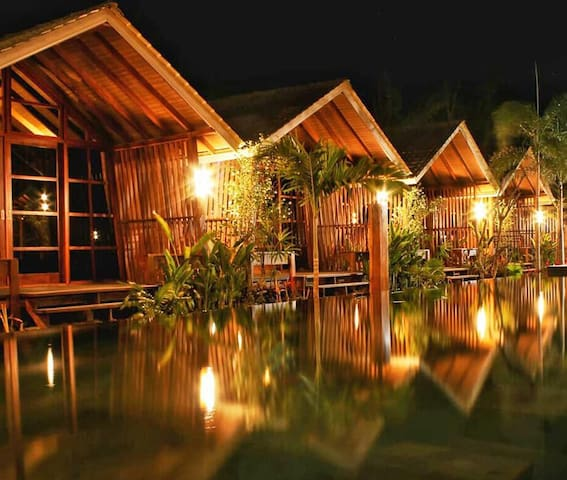 Wah Resort Gili Trawangan with pool view