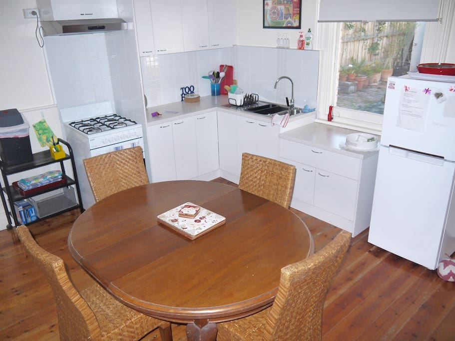Spacious Equipped Kitchen and Dining room