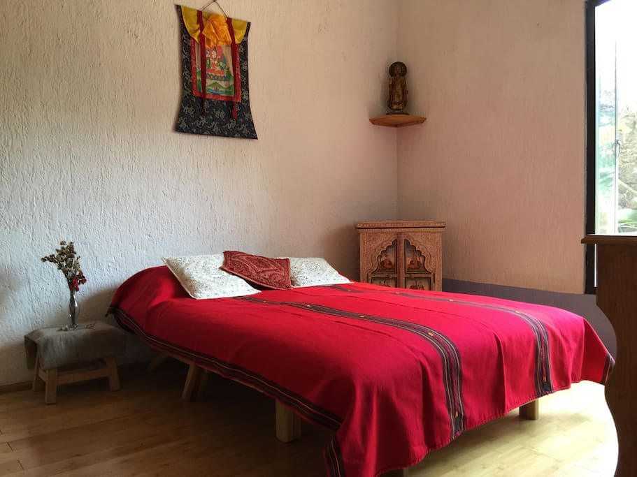 Doble room, the Buddha lounge