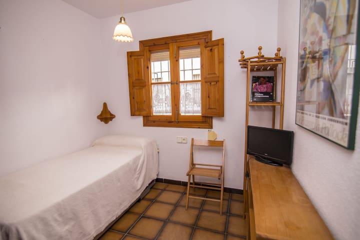 Habitación con 2 camas de '90